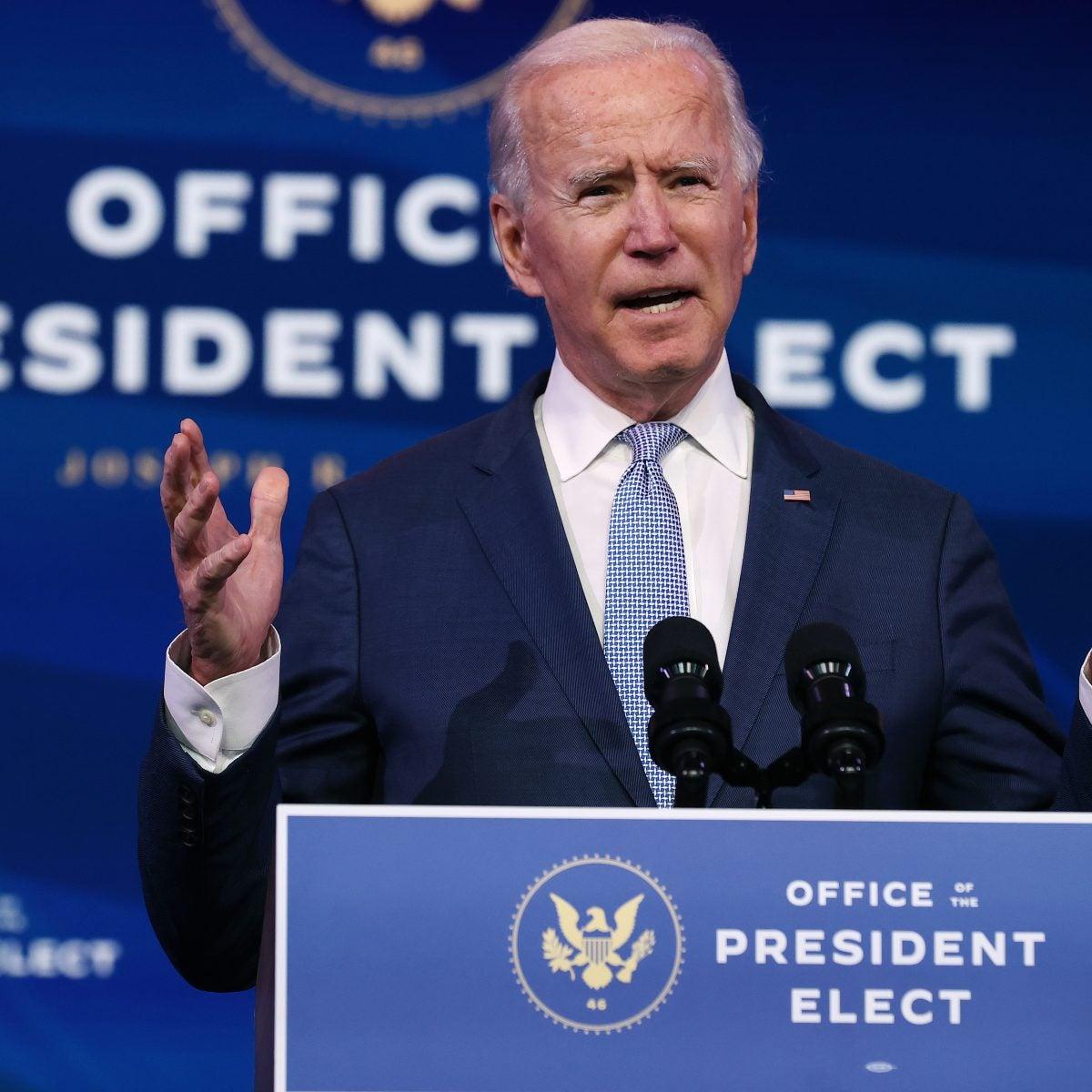 Congress Certifies Joe Biden As Winner Of Presidential Election