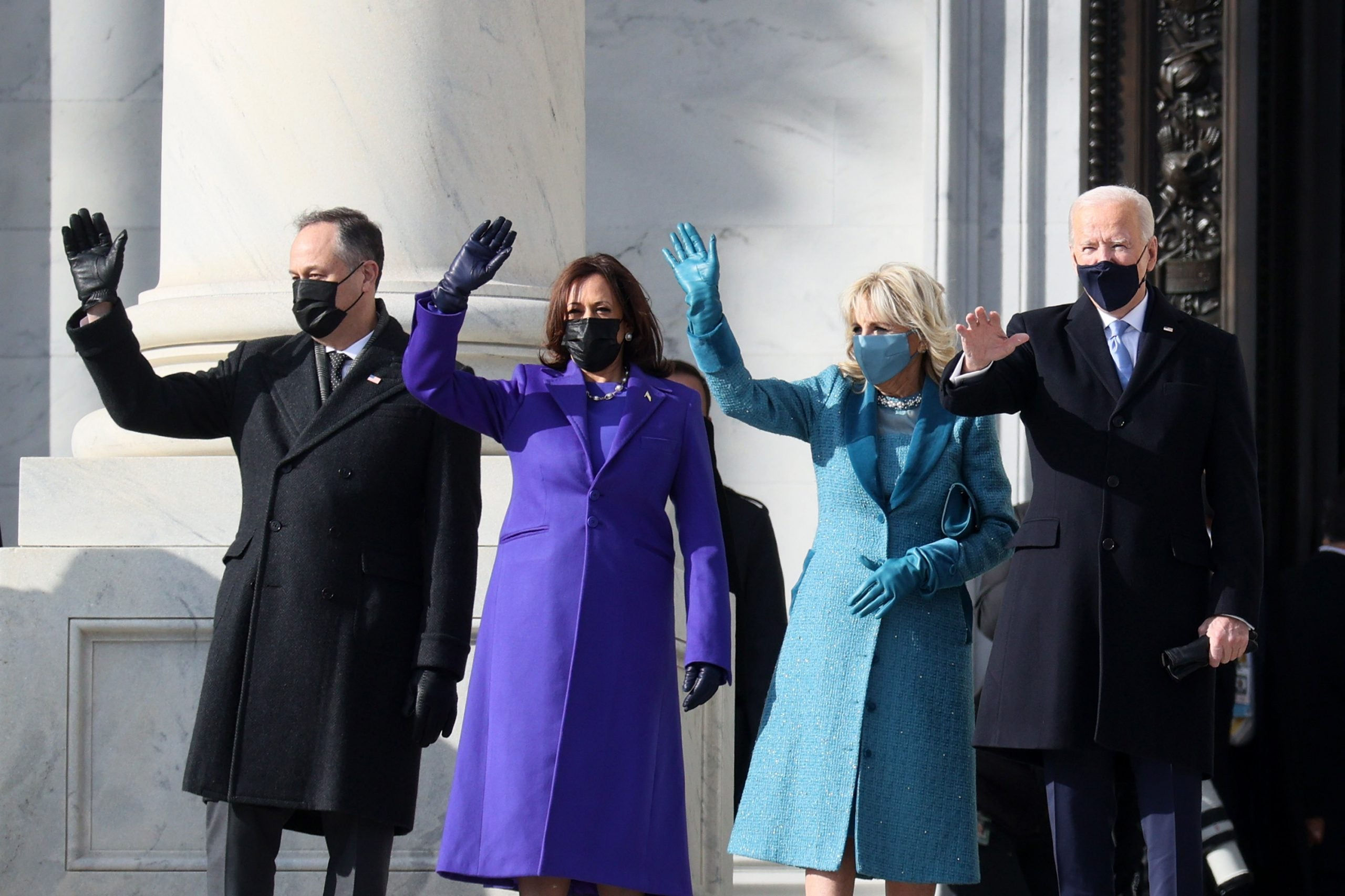 A Busy Day of Firsts for President Biden and Vice President Harris