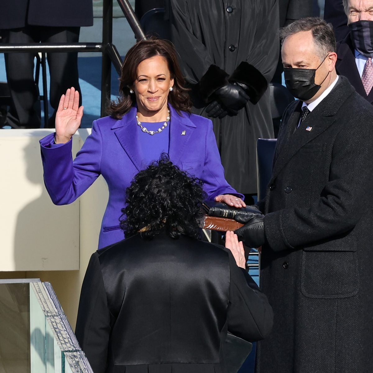Kamala Harris Is Officially Sworn In As The First Black Woman Vice-President