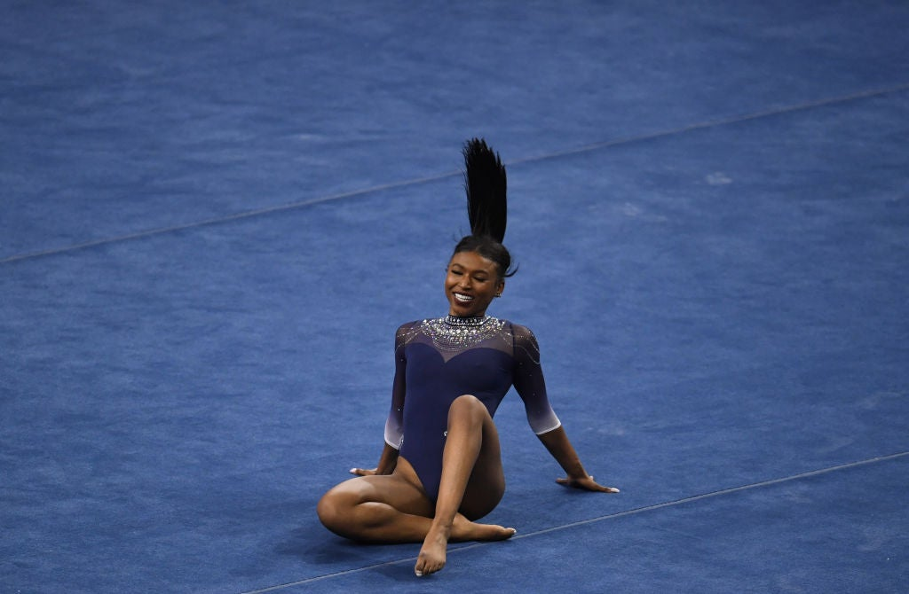 Nia Dennis Claims Victory For The Culture With 2nd Viral Gymnastics Routine