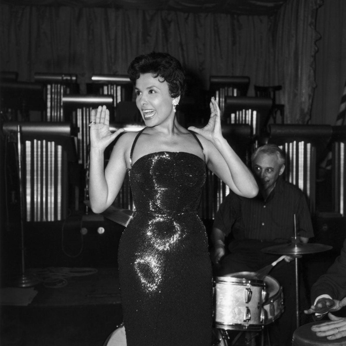 Paris, Singer Lena Horne, 1956