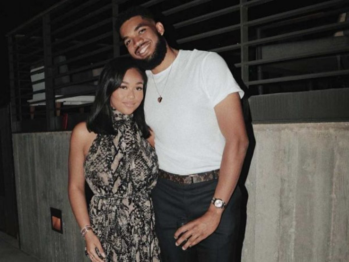 Jordyn Woods Supports Karl-Anthony Towns Amid COVID-19 Diagnosis
