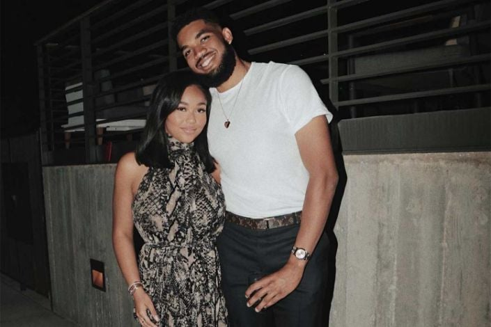 Jordyn Woods Requests Prayers For Boyfriend Karl-Anthony Towns Amid COVID-19 Diagnosis