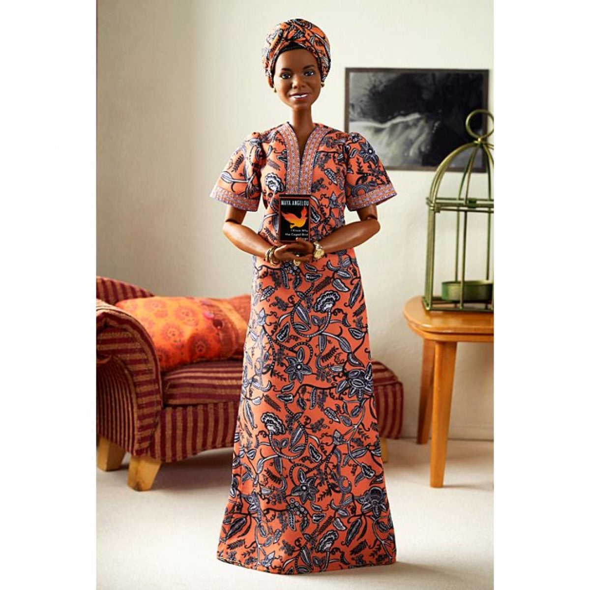 Dr. Maya Angelou Honored With A Barbie Doll