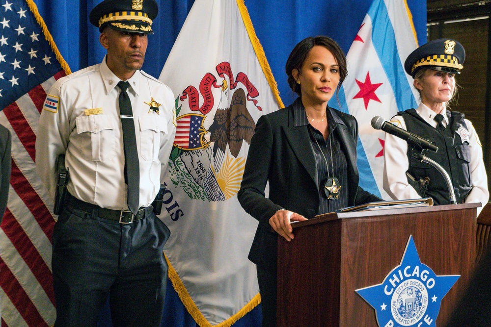 Nicole Ari Parker Talks Joining 'Chicago P.D.' And Why She Was 'Nervous' Taking On The Role Of Deputy Superintendent Samantha Miller