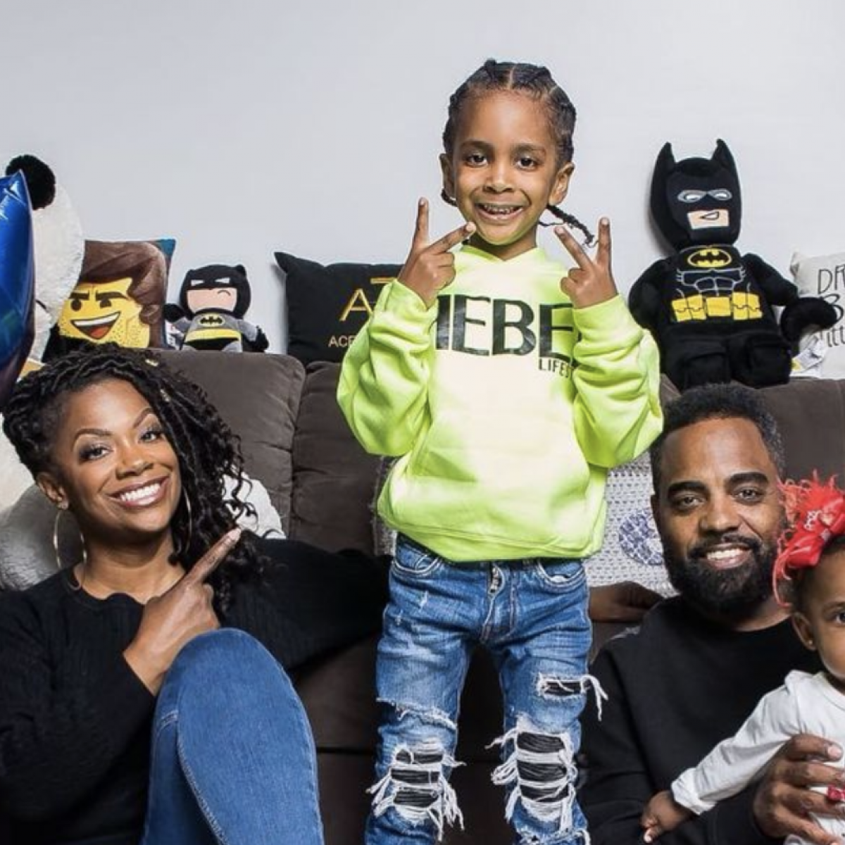 Kandi Burruss And Todd Tucker Went All Out For Their Son's 'Spiderverse' Party