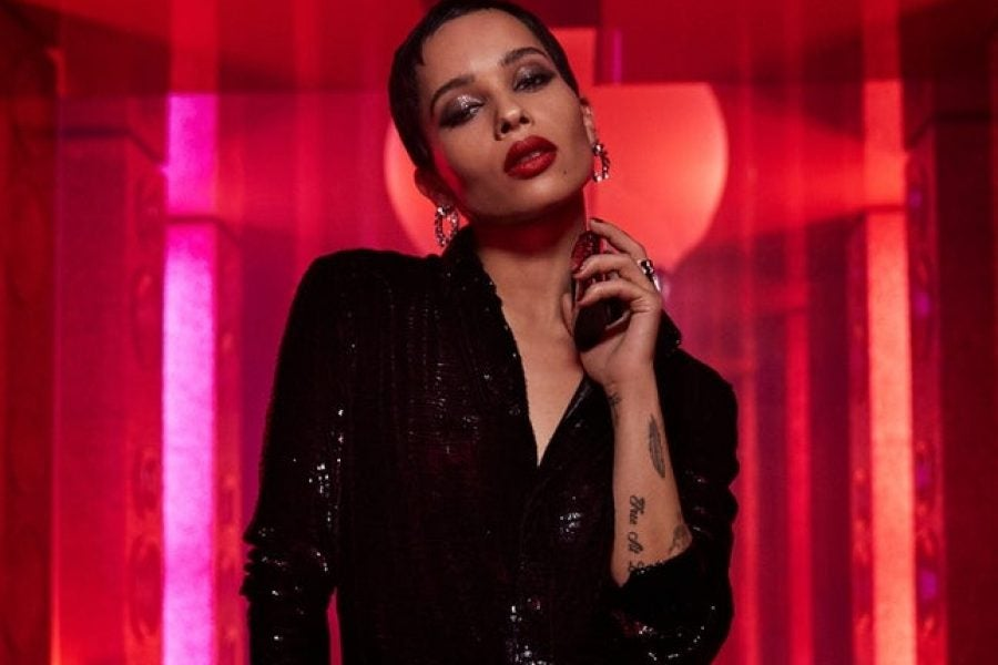 Zoe Kravitz Launches New Lipstick Collection With YSL Beauty