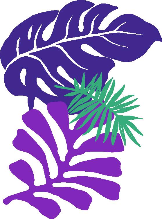left side foliage