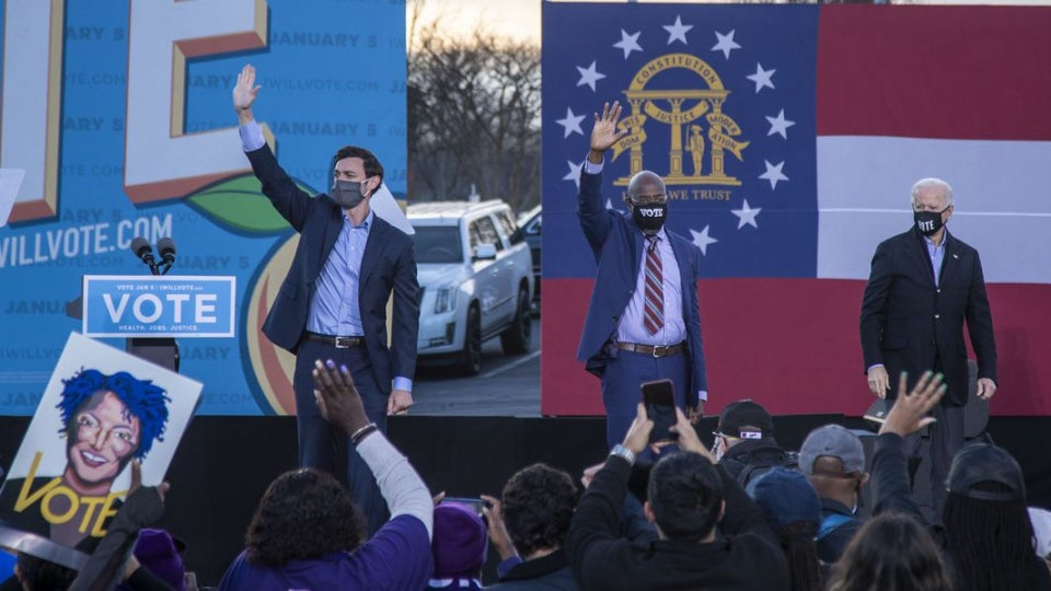 Ossoff And Rev. Warnock Are Projected Winners Of Georgia Senate Runoffs