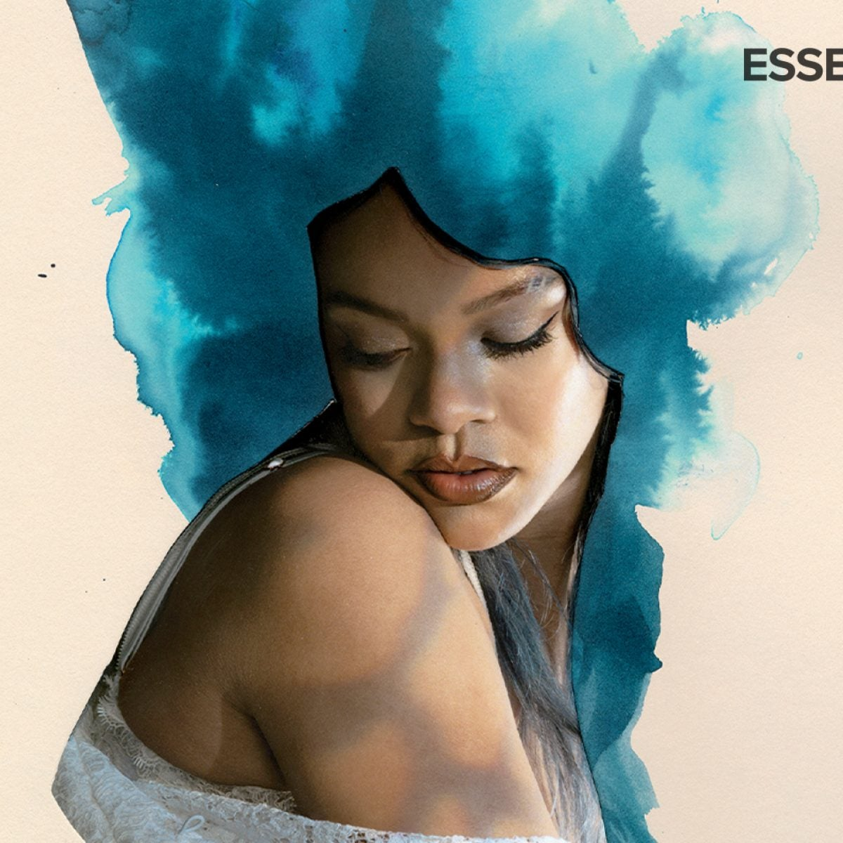 """""""Blue Cumulus"""" Rihanna, Lorna Simpson"""