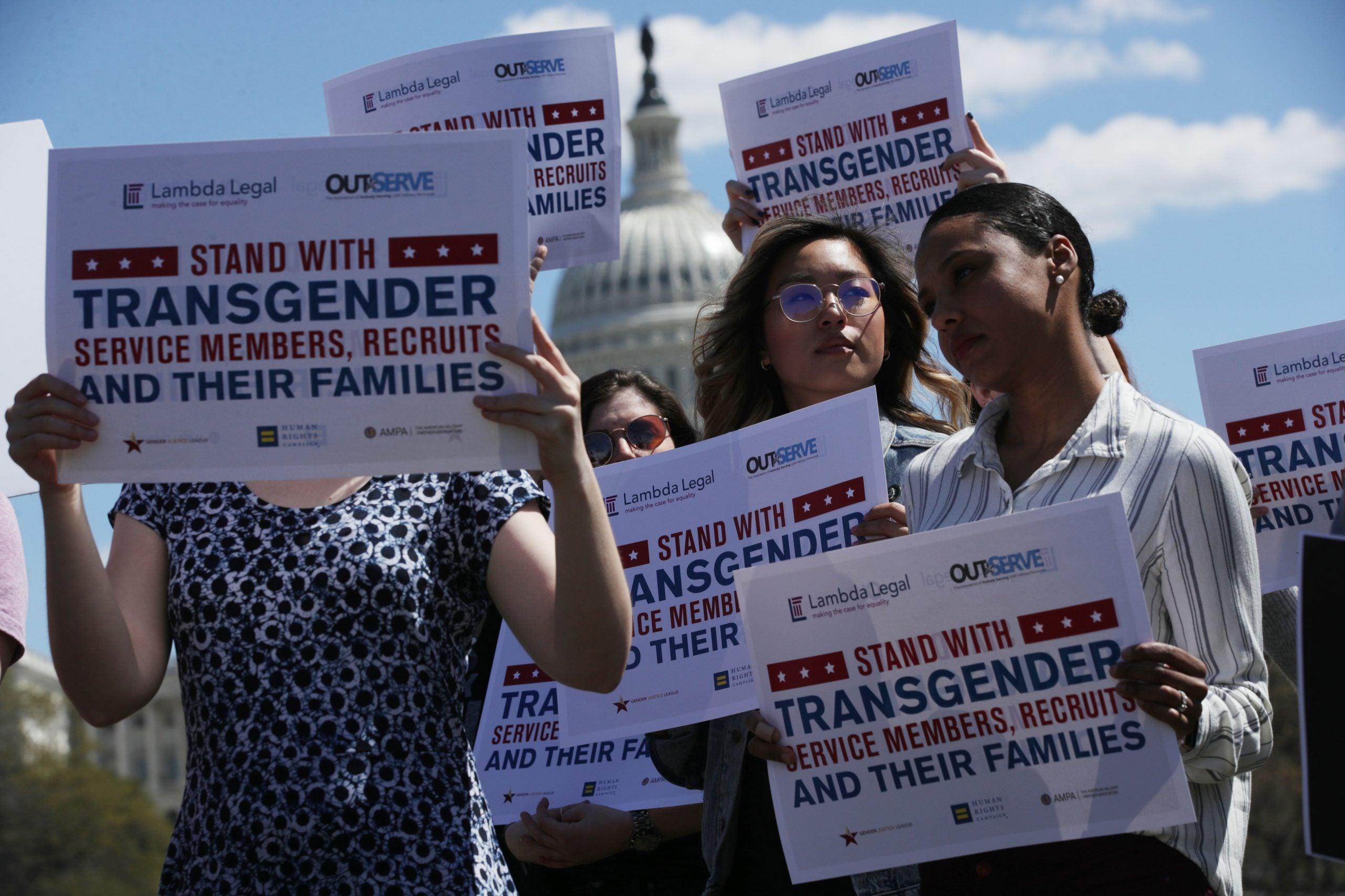 President Biden Lifts Ban on Transgender Military Members