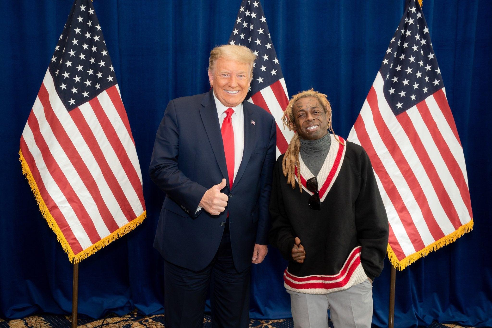 Lil Wayne And Kodak Black Granted Last-Minute Clemency By Donald Trump
