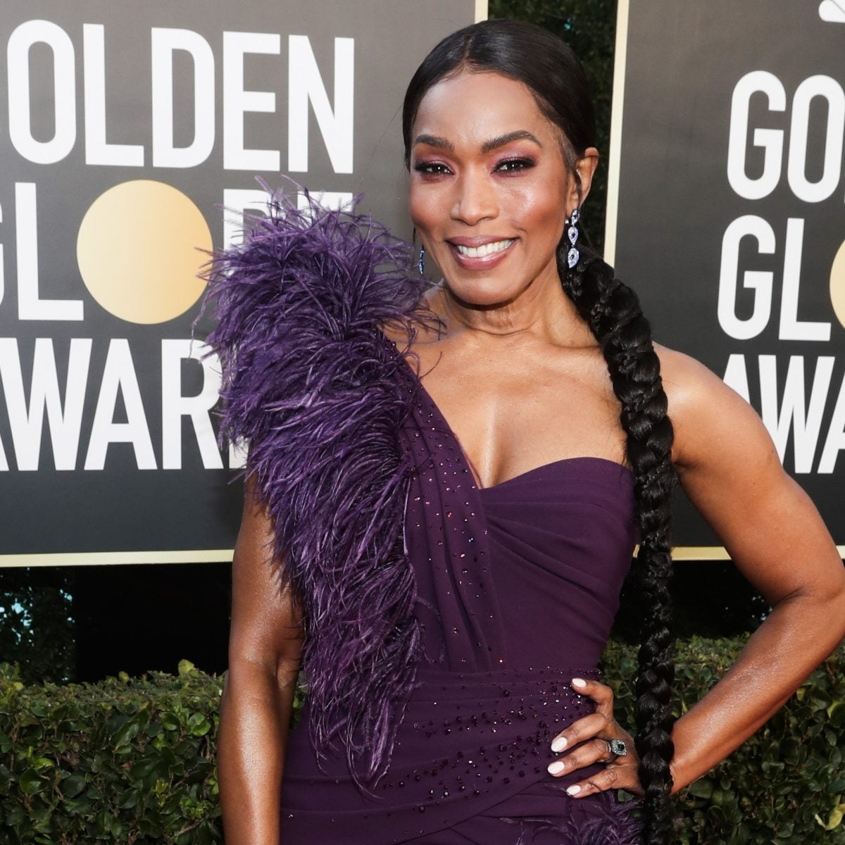 Let's Talk About Angela Bassett's Braid At The Golden Globes Awards