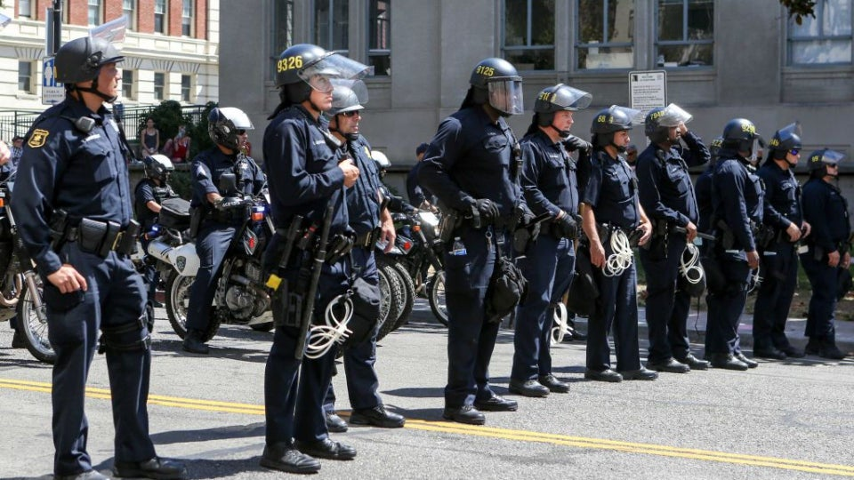 FBI Report Warns White Supremacists Seek To Infiltrate Law Enforcement