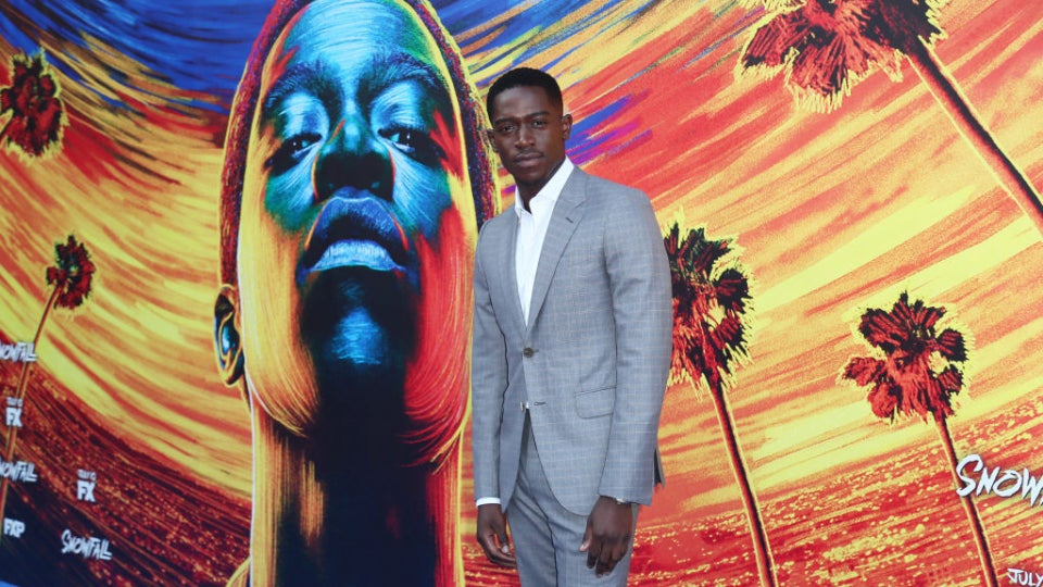'Snowfall' Star Damson Idris Talks Dream Roles And Enjoying The Ride To The Top