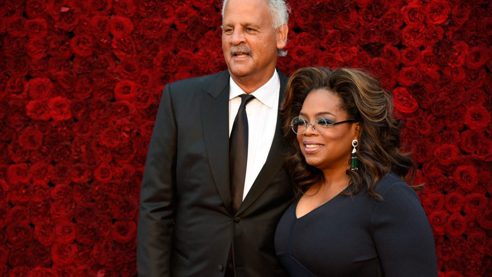 Oprah Spent Her 67th Birthday At Home With Stedman
