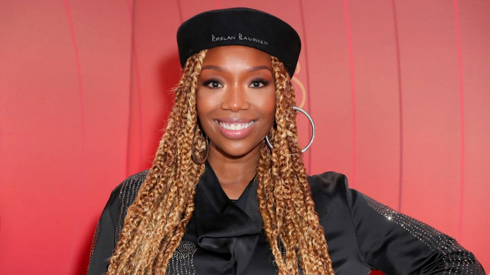 Brandy Joins 'The Voice'