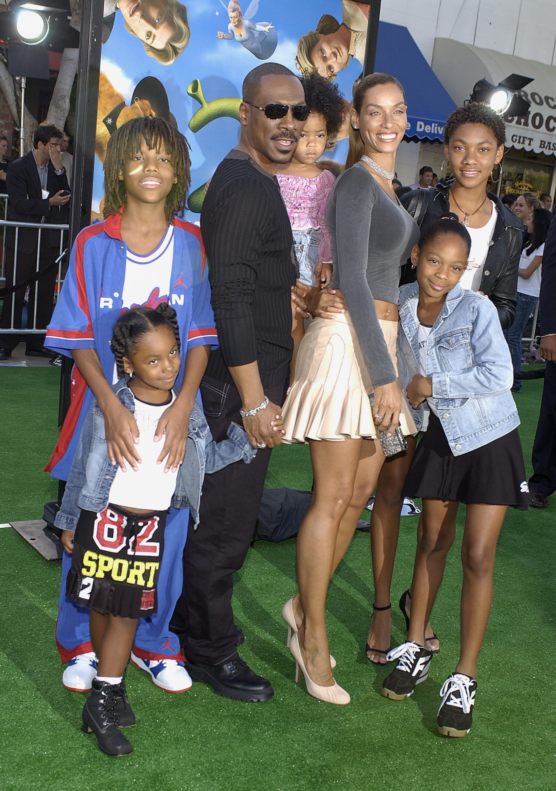 A Family Affair Eddie Murphy And His Kids Through The Years Essence And he's really into it. a family affair eddie murphy and his