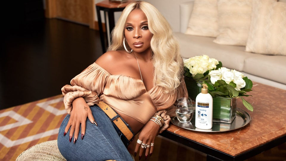 Mary J. Blige Has Teamed Up With Gold Bond To Celebrate Black Stuntwomen
