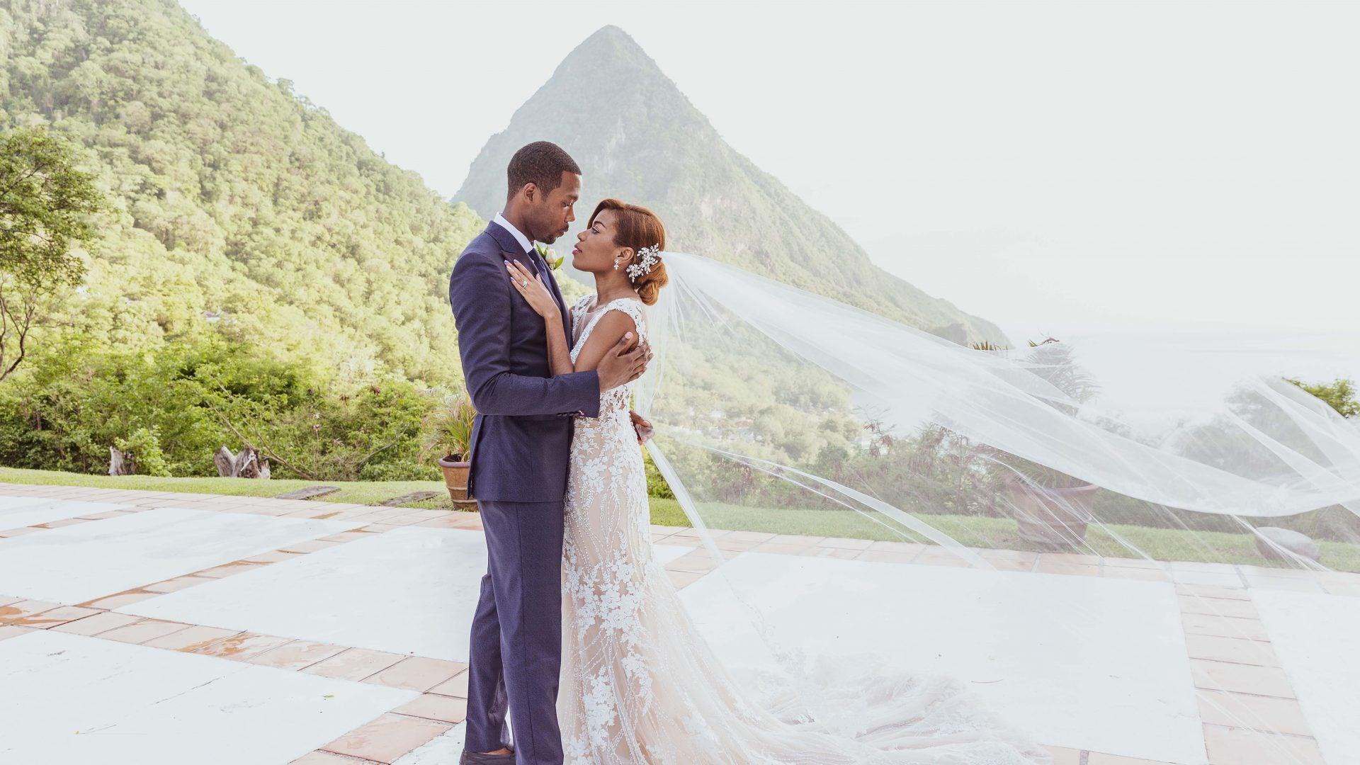 Bridal Bliss: le mariage de Brittany et Oliver à Sainte-Lucie