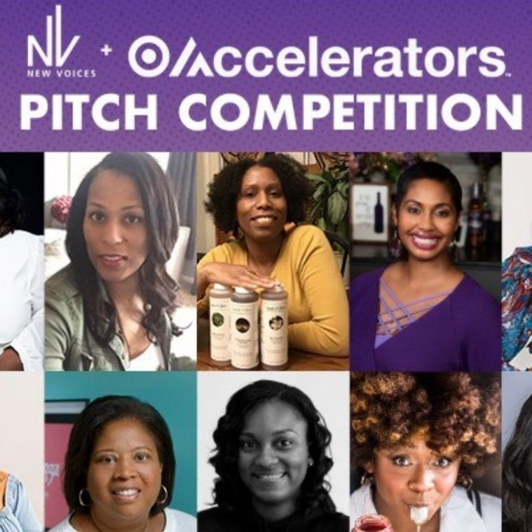 Pitched To Perfection: 10 Black Women Owned Businesses Win Big At New Voices + Target Accelerators Pitch Competition