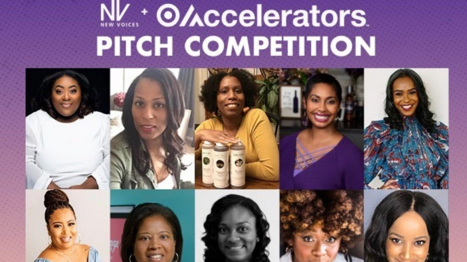The New Voices + Target Accelerators Pitch Competition Is Back TODAY At 3PM EST!