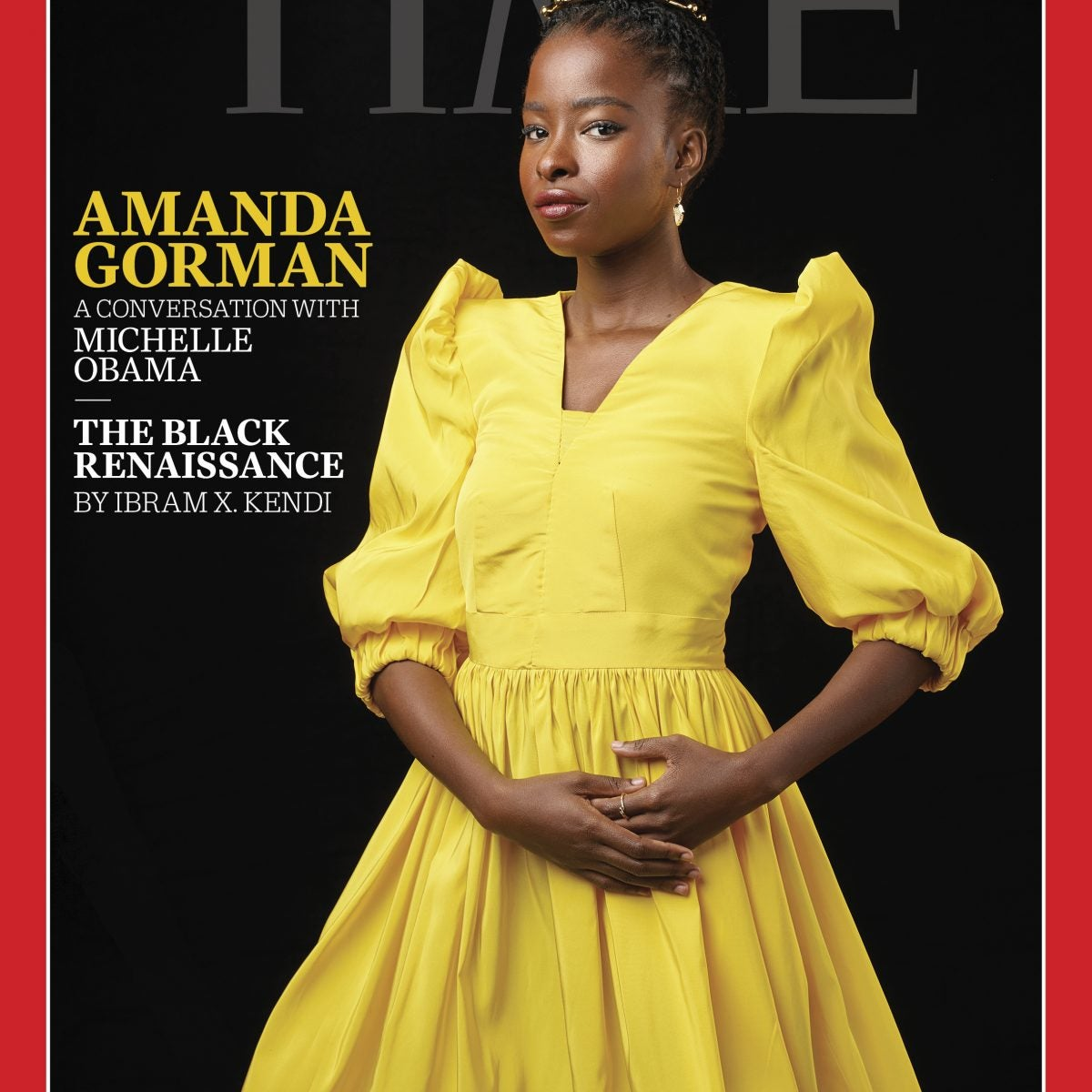 Amanda Gorman on Time Cover