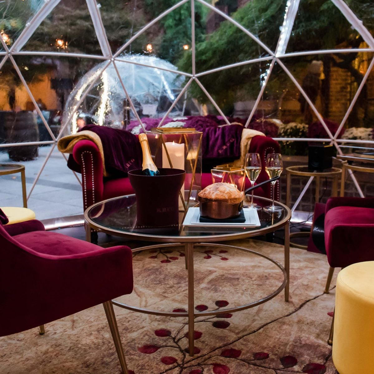 These DC Domes Offer A Cozy and Socially Distanced Dining Experience