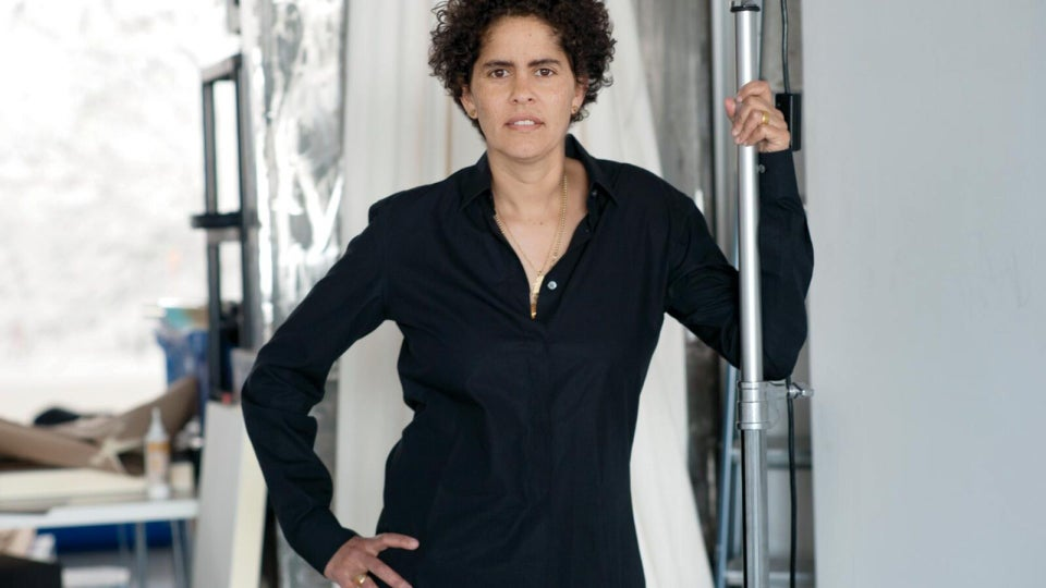 Julie Mehretu Is Getting Her Flowers on Time