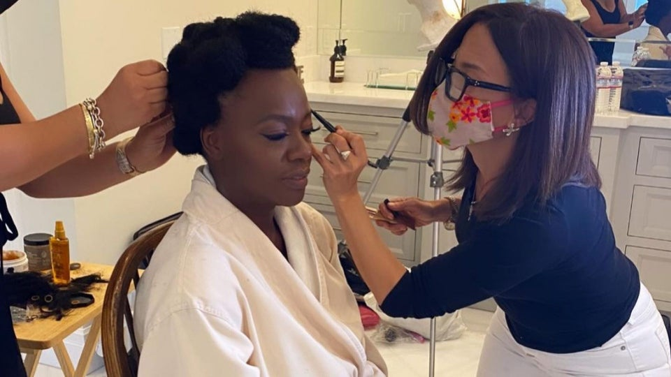 The Drugstore Makeup Brand Responsible For Viola Davis's Stunning Golden Globes Makeup Look