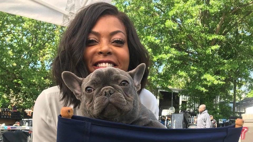 Taraji P. Henson Mourns The Loss of Her Dog, K-Ball Henson