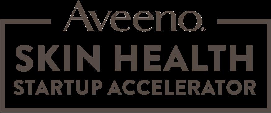 Aveeno Skin Health Startup Accelerator logo