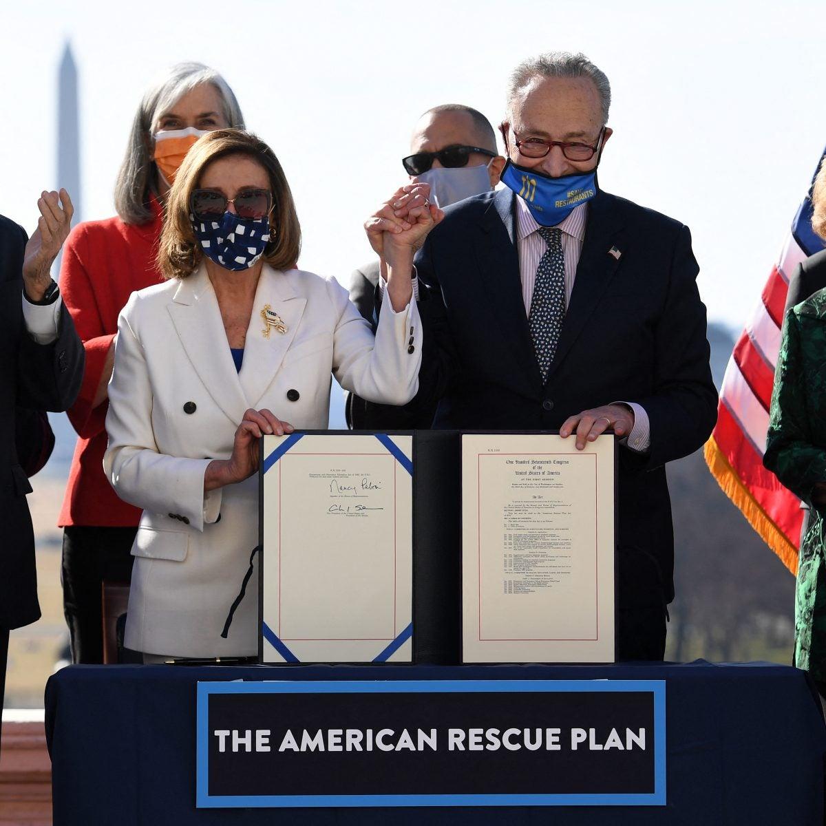 Congress Passes President Biden's American Rescue Plan