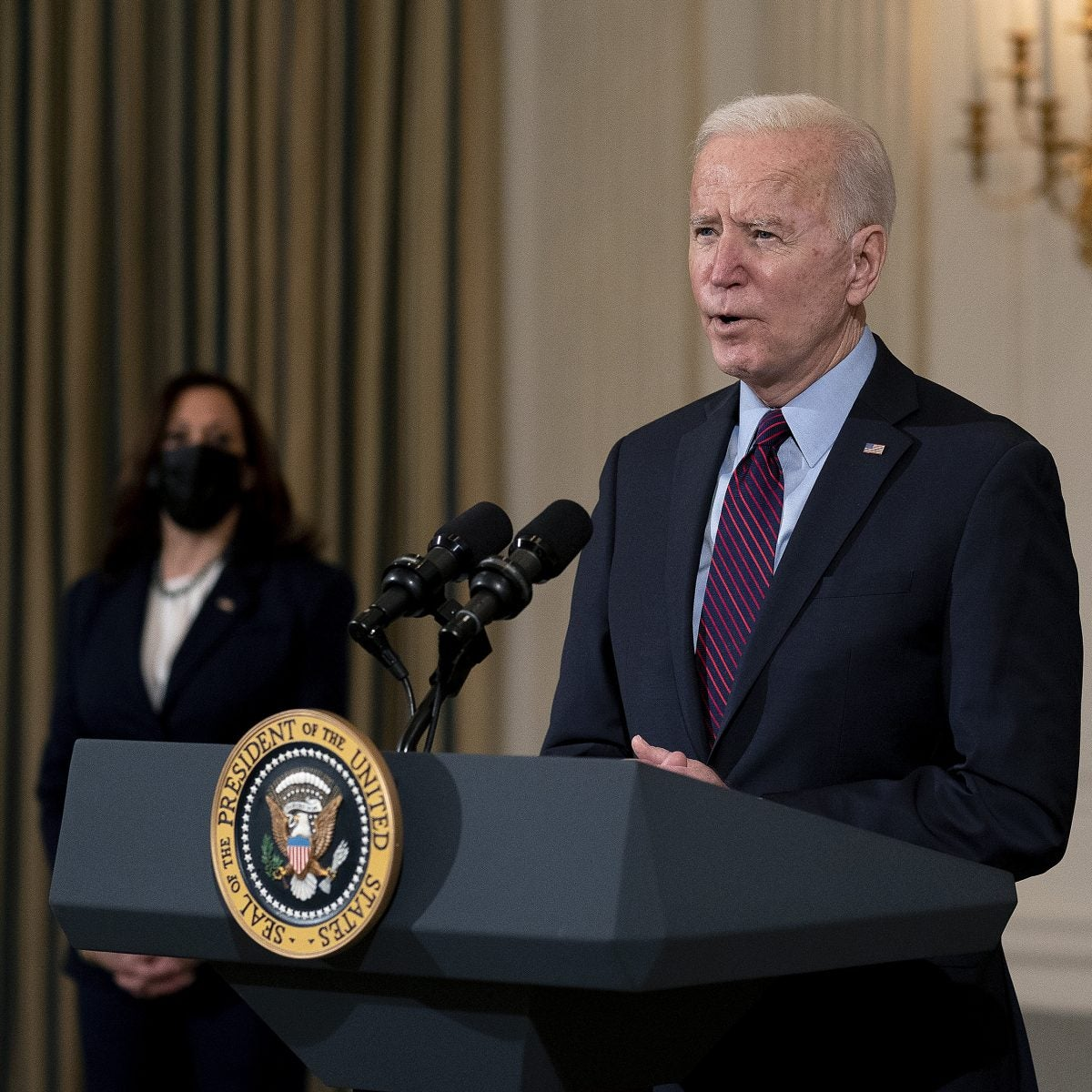 President Joe Biden To Address The Nation Tonight