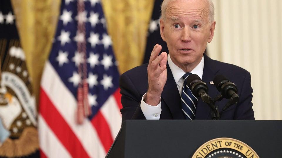 President Biden Holds First Major Press Conference