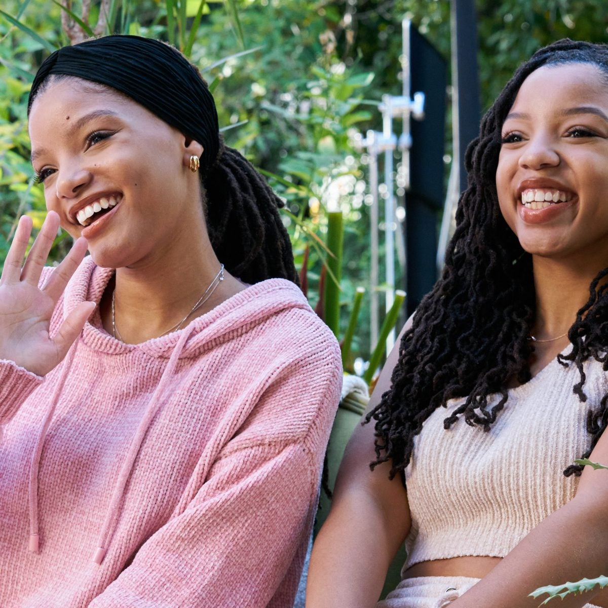 Chloe & Halle On Their Partnership With Neutrogena And Being Without A Manicure In Quarantine