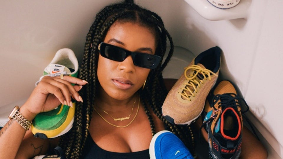 Black Girl Sneaker Influencers Stompin' In Their AF1s