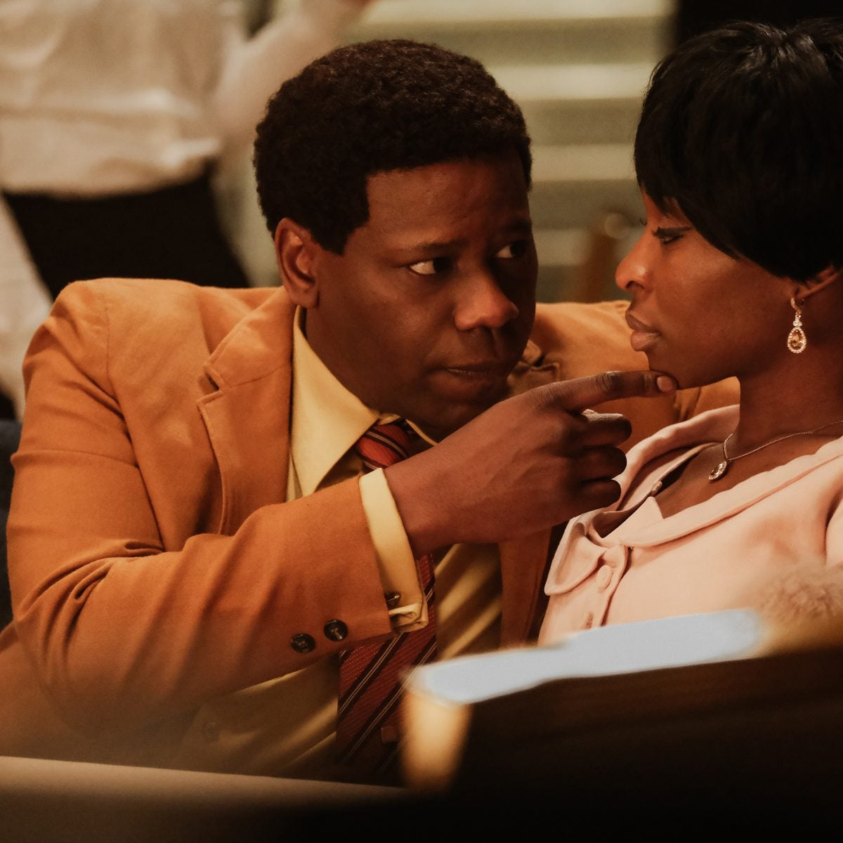 Malcolm Barrett Explains Not Talking With Aretha Franklin's Ex-Husband Before 'Genius' Role