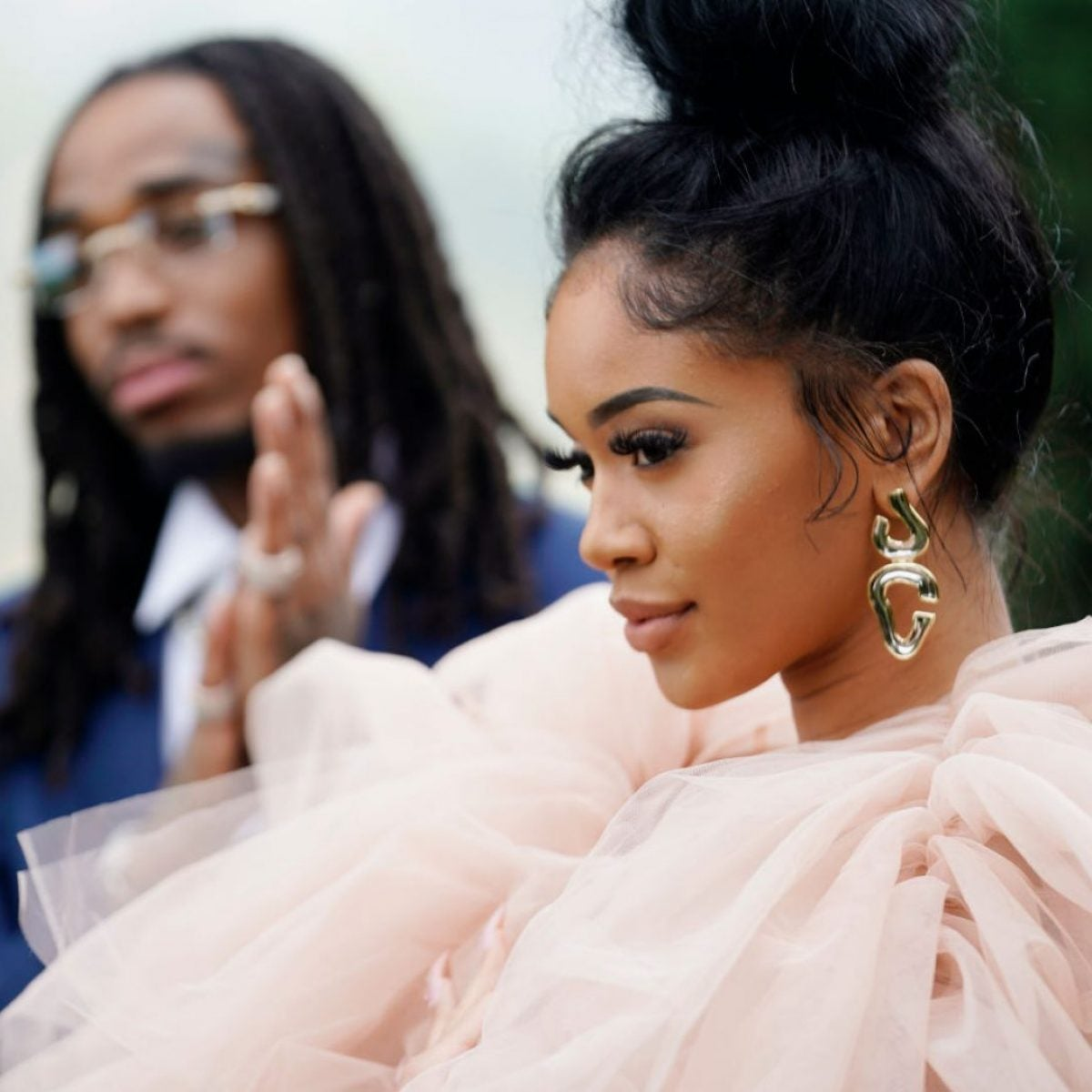 The Internet Is Outraged By A Video Showing Saweetie and Quavo In A Physical Altercation