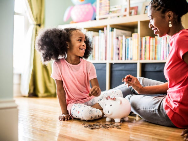 Here's The Most Practical Way To Teach Your Kids How To Save Money