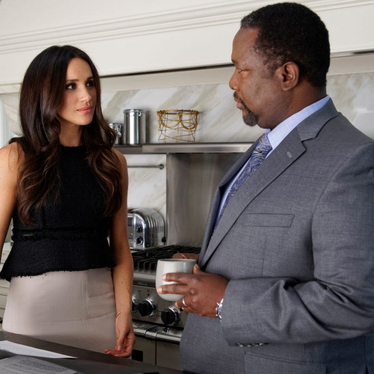 'Suits' Co-Star Wendell Pierce Disputes Claims He Attacked Meghan Markle Interview