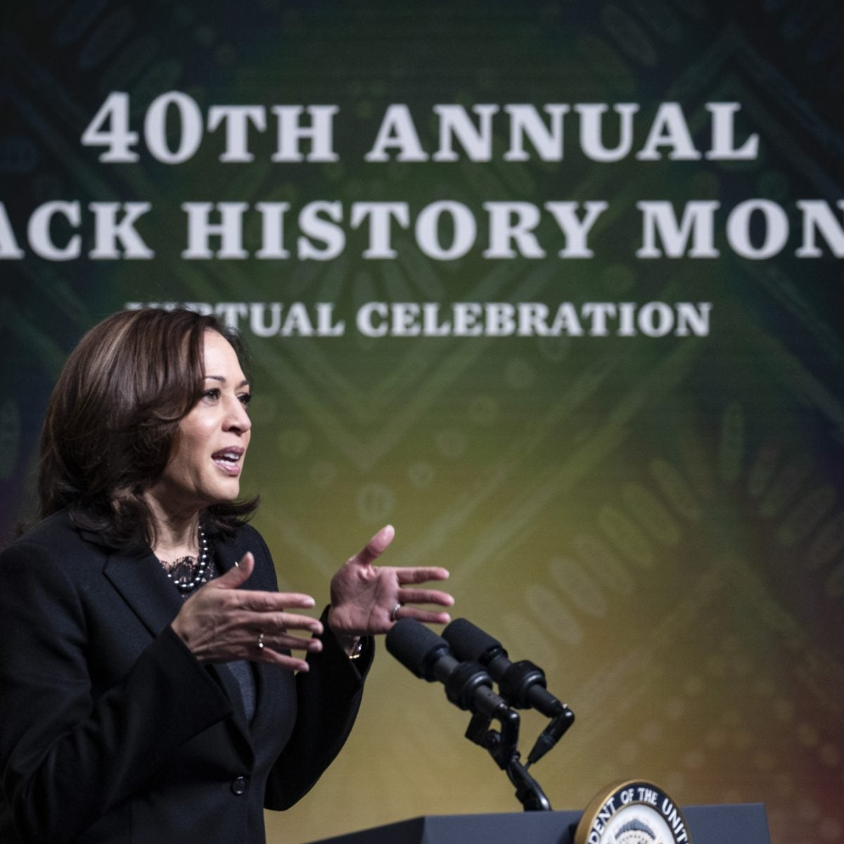 Vice President Kamala Harris Keynotes Black History Month Event