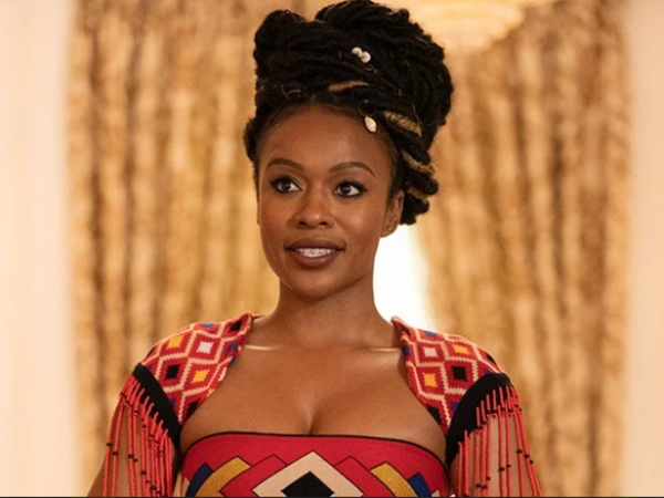 Nomzamo Mbatha Flew From Abu Dhabi To L.A. At A Moment's Notice For 'Coming 2 America'