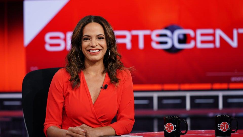 ESPN's SportsCenter Host Elle Duncan Talks Motherhood, Mental Health and Representation