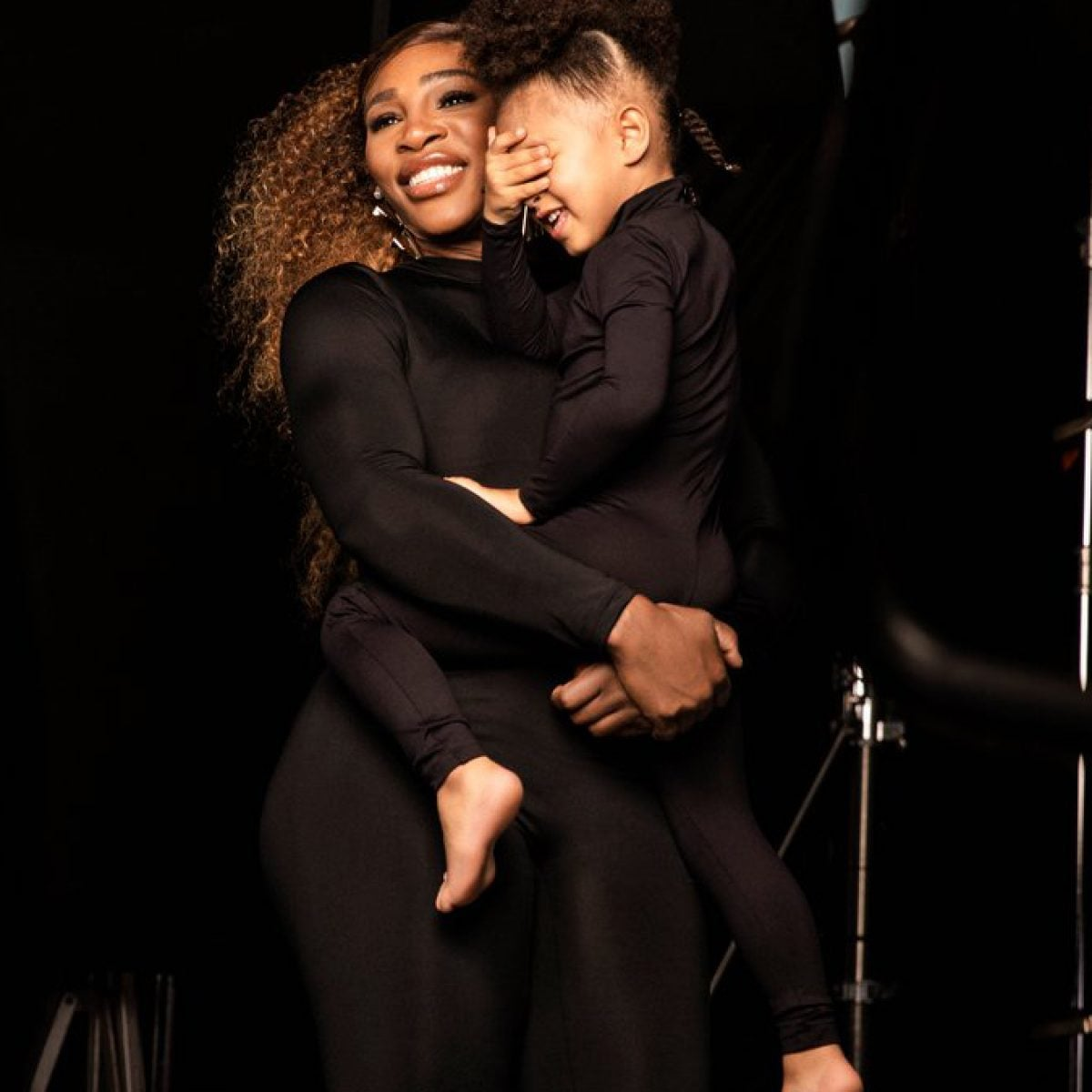 Serena Williams And Daughter Olympia Star In First Fashion Campaign Together For Stuart Weitzman