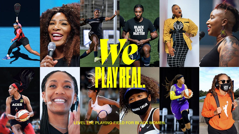 Nike Celebrates Black Women With New Film 'We Play Real'