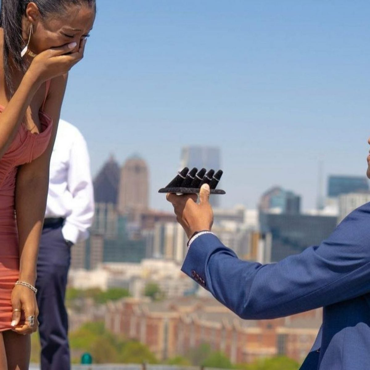 Man Pops The Question With Five Incredible Engagement Rings