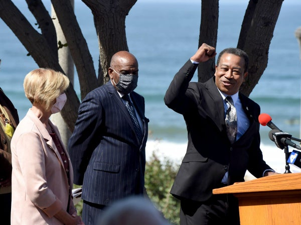 California Returns Bruce's Beach To Black Family 100 Years After It Was Stolen From Them