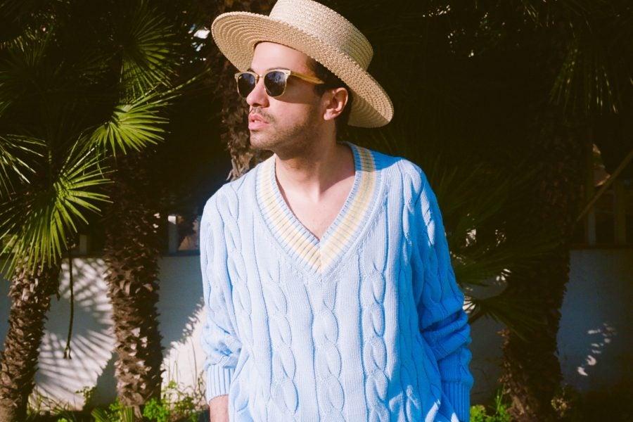 DJ Cassidy Blue Cricket Sweater 2 Cropped 900x600.