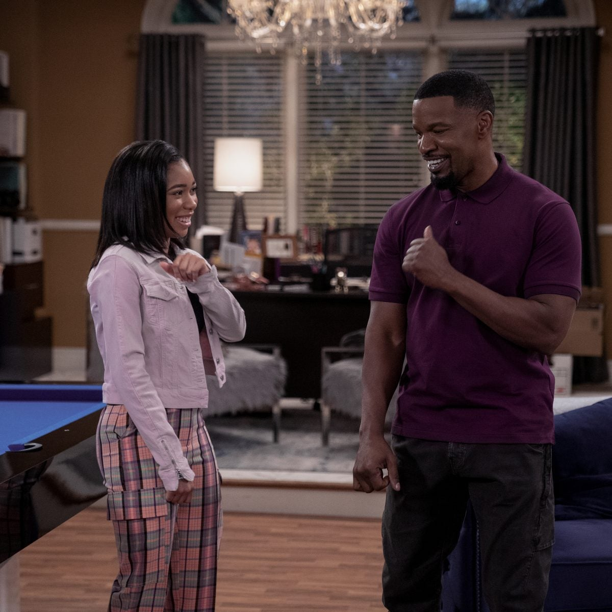 Jamie Foxx Gushes Over Working With Daughter On New Sitcom: She's Just A Testament To Beautiful Sunlight